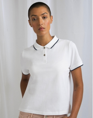The Women's Tipped Polo
