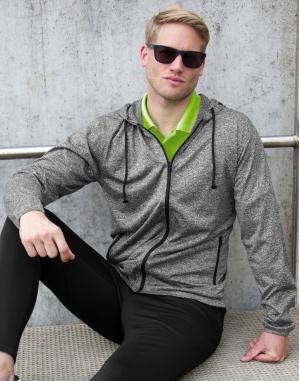Men`s Hooded Tee-Jacket