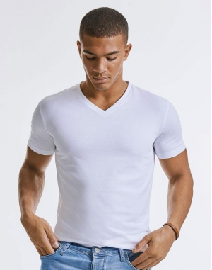 Men`s Pure Organic V-Neck Tee