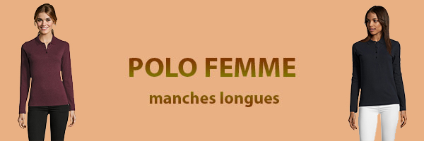 polo-femme-manches-longues